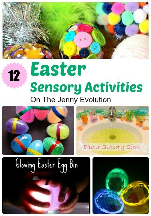 12 Terrific Easter Sensory Activities!