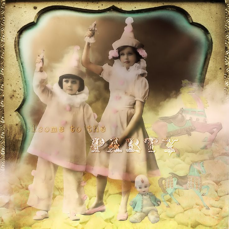 """NEW KIT """"Oh Happy"""" from ItKuPiLLi Imaginarium by Kirsi Iggy Rouvinen http://www.mischiefcircus.com/shop/manufacturers.php…"""