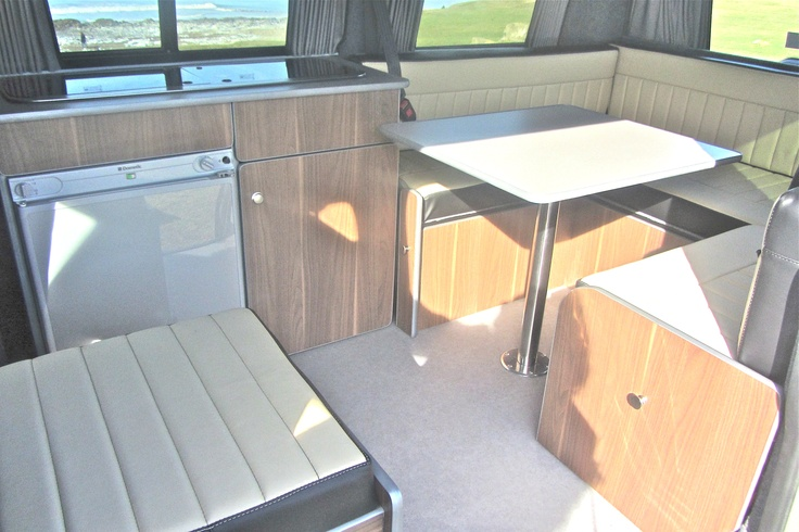 A great space and all in a VW T5 Transporter