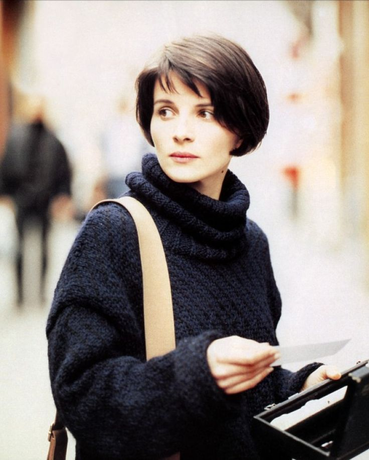 Juliette Binoche dans Trois Coluers: Bleu