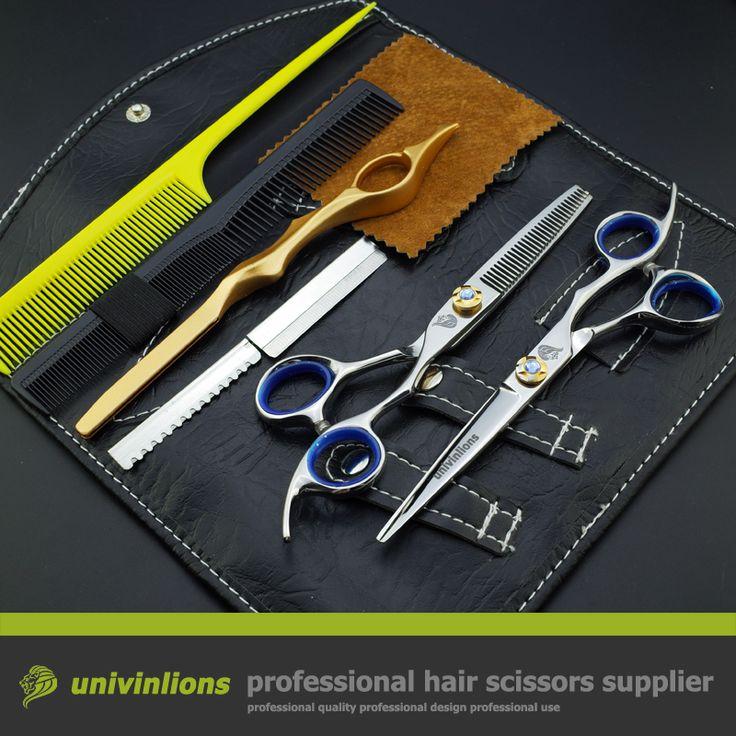 "6"" professional hair scissors hairdressing scissors sale barber razor shears for hair salon de coiffure barber scissors pinking"