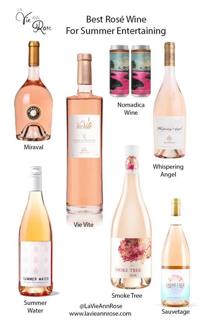 Best Rosé Wine for Summer Entertaining