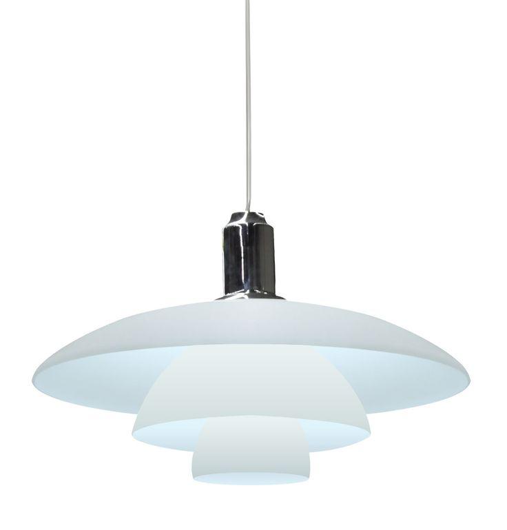 Replica Poul Henningsen PH4 1/2 Pendant Lamp by Poul Henningsen - Matt Blatt