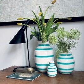 Kähler vase lille - Lys grøn