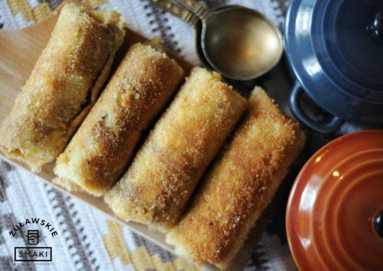 Krokiety z kiszoną kapustą i pieczarkami - prostu z Żuławskiej wsi. #kuchnia #Polska #tradycja #food #Poland #Żuławy