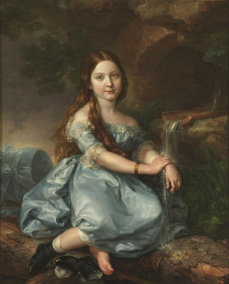 VICENTE LOPEZ Y PORTANA (SPANISH PAINTER, 1772-1850).** Сеньора Де Карвальо **