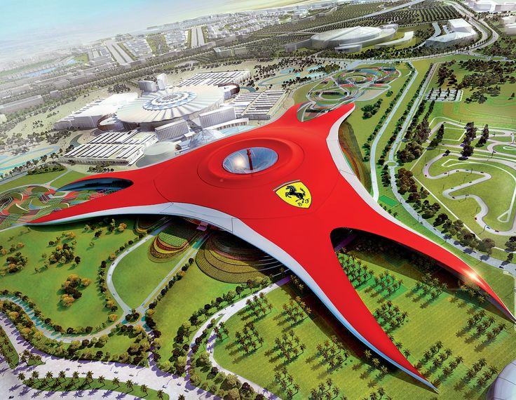 Dubai To Abu Dhabi Tour Mosque And Ferrari World