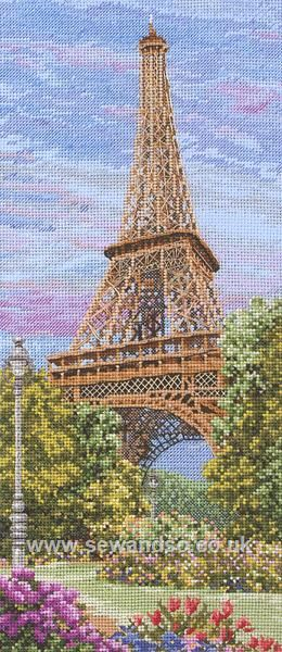 The Eiffel Tower - Sew and So - Anchor