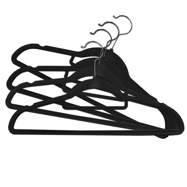 Velvet hangers are a good design because of their functionality. With several uses people buy the hangers because they save space in the closet because they are thin and they also  hold the piece of clothing onto the hanger because of the surrounded velvet.