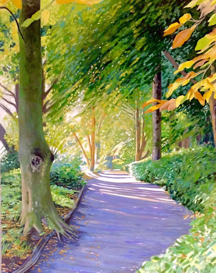 Altamont walk Emerboweart.  Buy it now on my etsy > https://www.etsy.com/ie/people/emerbowe?ref=hdr_user_menu #Painting #oiloncanvas #Art #oilpainting #oil #canvas #paint #irish #irishartist #EmerBowe #Forest #trees #tree #nature #wildlife