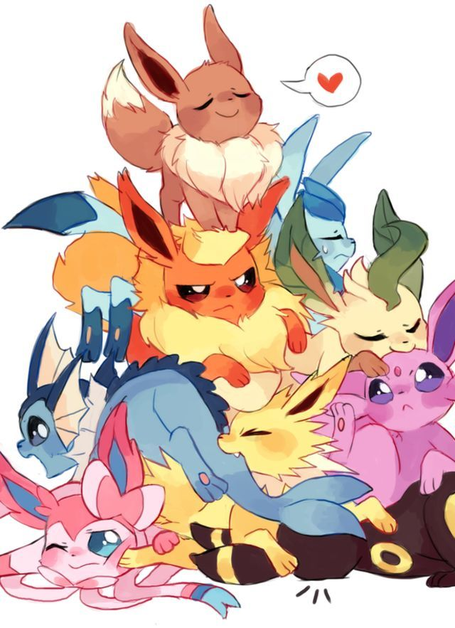 To be Eevee? Or not to be Eevee? Which Eeveelution are you? - I obviously got Umbreon!!! :3333