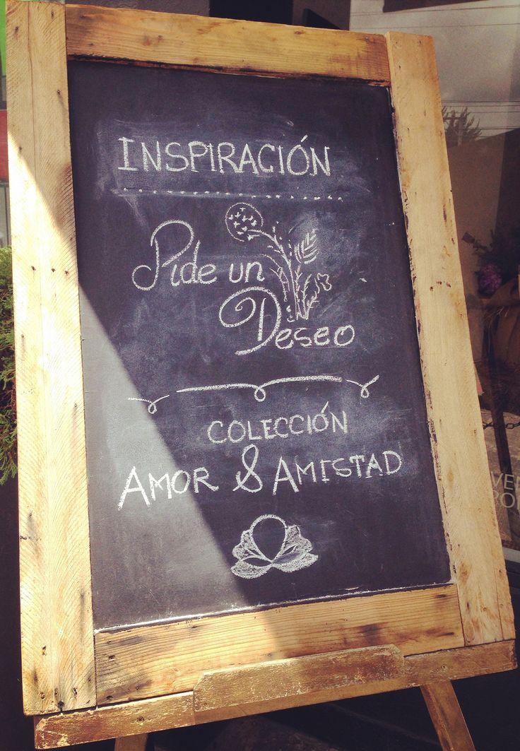Visítanos y averigua de que se trata nuestra inspiración..calle 122 # 16 -19 Bogotá #adrianasatizabal #pideundeseo #amoyyamistad