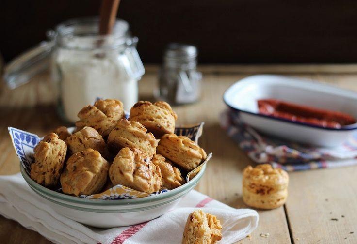 Kolbászos-tejfölös pogácsa Recept képpel - Mindmegette.hu - Receptek