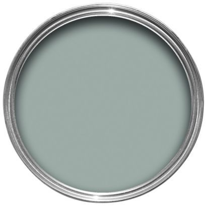 Craig & Rose Authentic Period Colours Acrylic Eggshell Paint Morris Blue 750ml  for kitchen cabinets