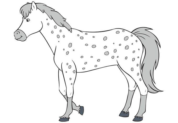 bibi und tina ausmalbilder pferde 04  malvorlagen