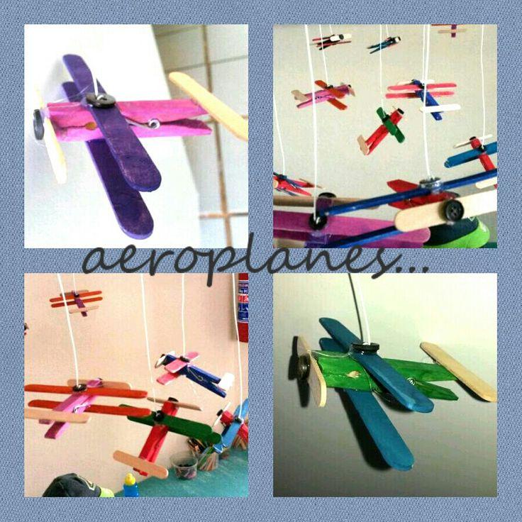 Wooden aeroplanes