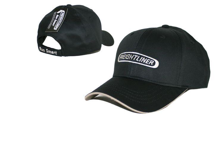 Freightliner Merchandise - Freightliner Run Smart Black & Silver Cap…