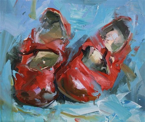 Red shoes  Paul Wright