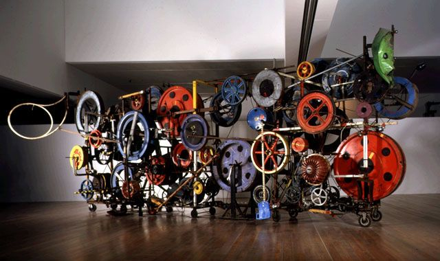Jean Tinguely - I saw this in Basel, Switzerland. I fell in love with his manic, motion sculptures. If you get a chance to see them. Take it.