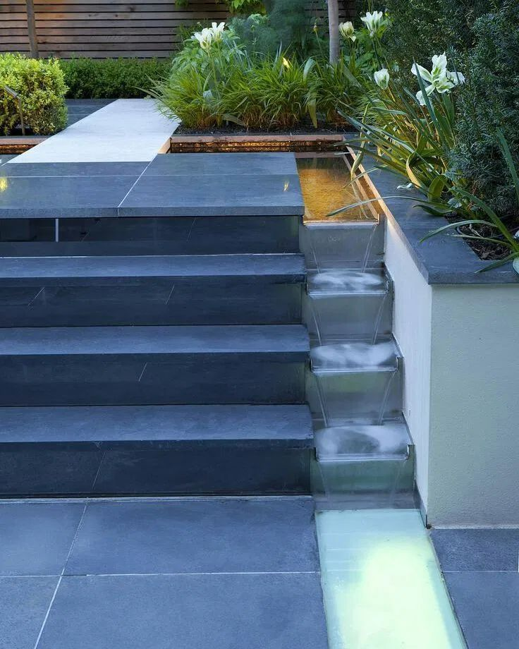 24 Backyard Water Features for Your Outdoor Living Space ... on Bade Outdoor Living id=30874