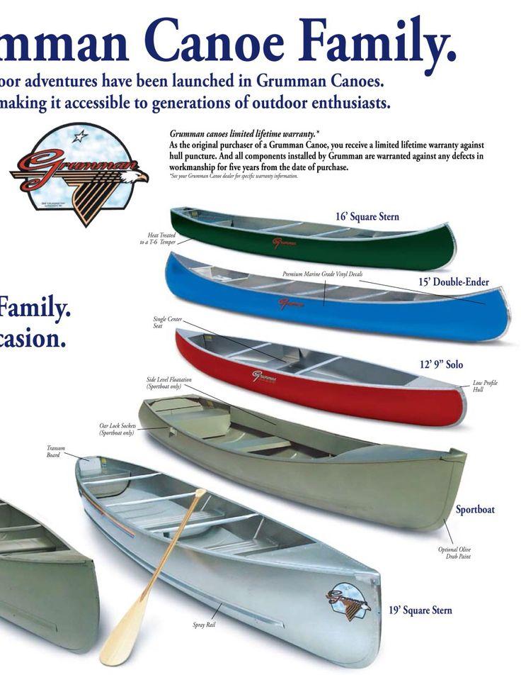 Aluminum boat? Grumman canoe, Canoe boat, Canoe
