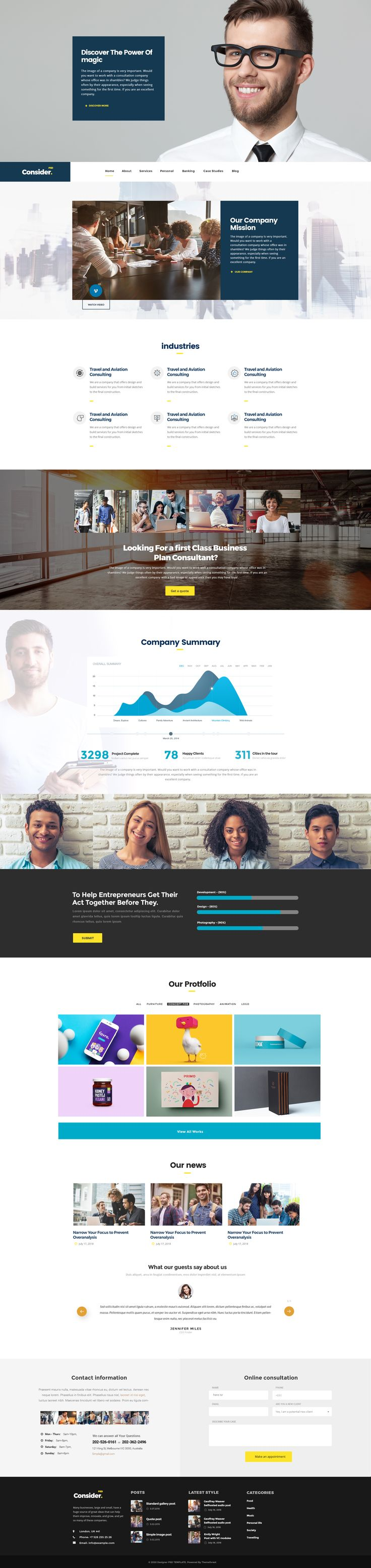 Consider - Consulting,Finance, Business Agency PSD Template #advisor #analytical #audit • Download ➝ https://themeforest.net/item/consider-consultingfinance-business-agency-psd-template/20377155?ref=pxcr  - No site #ThemeForest encontra os melhores #Templates & #Plugins para #Wordpress. Confira em http://www.estrategiadigital.pt/themeforest-templates-wordpress/  - No site #ThemeForest encontra os melhores #Templates & #Plugins para #Wordpress. Confira em…
