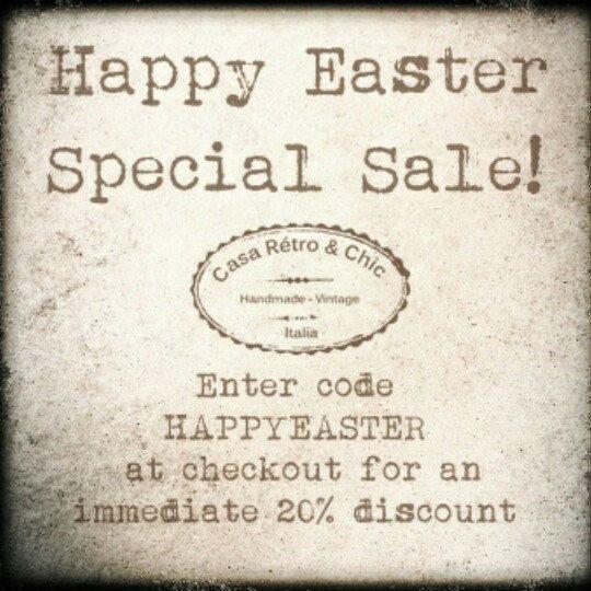 Easter weekend Special!