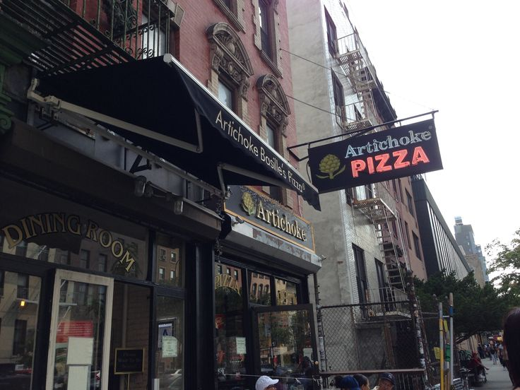 Artichoke's pizza, Union Square