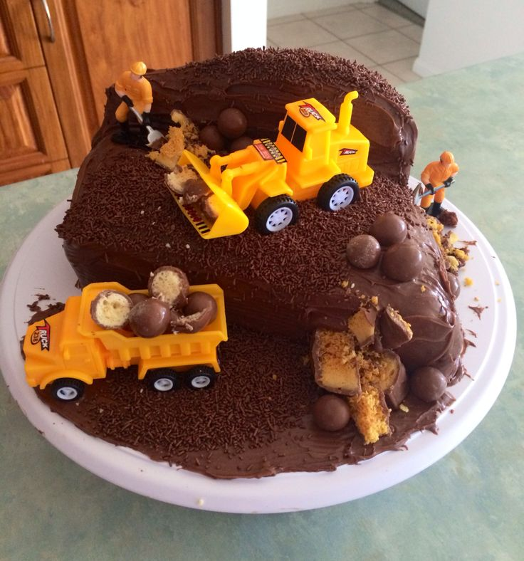 My 3 year olds birthday cake. He loved it!