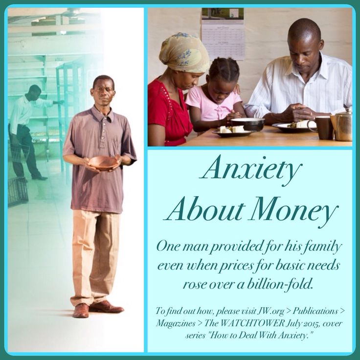 """Anxiety About Money -  One man provided for his family even when prices for basic needs rose over a billion-fold. To find out how, please visit JW.org > Publications > Magazines > The WATCHTOWER July 2015, cover series """"How to Deal With Anxiety."""" ༺♥༻ Want to learn more? Under """"Contact Us"""" just """"Request a Bible Study!"""" All at no charge. JW.org also has the Bible and study aids to read, watch, listen and download in several languages. Plus now TV.JW.org!"""
