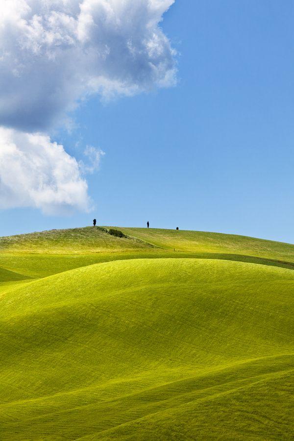 Velvet hills, Tuscany