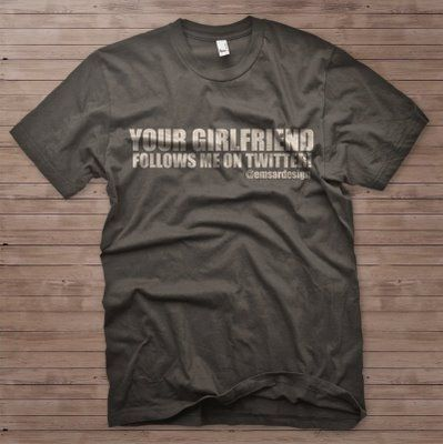 50 Clever, Hilarious and Geeky Twitter T-Shirts