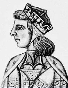 Manfredi di Hohenstaufen, o Manfredi di Svevia o Manfredi di Sicilia (Venosa, 1232 – Benevento, 26 febbraio 1266), fu l'ultimo sovrano svevo del regno di Sicilia. Figlio dell'imperatore Federico II di Svevia e di Bianca Lancia(figlia di Galvano Lancia primo Signore di Longi e Conte di Fondi), fu reggente dal 1250 e quindi re di Sicilia dal 1258. Morì durante la battaglia di Benevento, sconfitto dalle truppe di Carlo I d'Angiò.Nonno di Federico III di Sicilia ,da parte di madre.