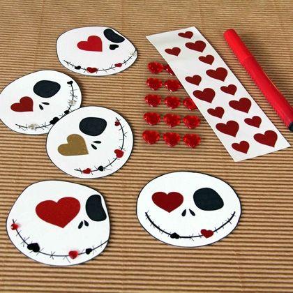 Jack Skellington Valentines!