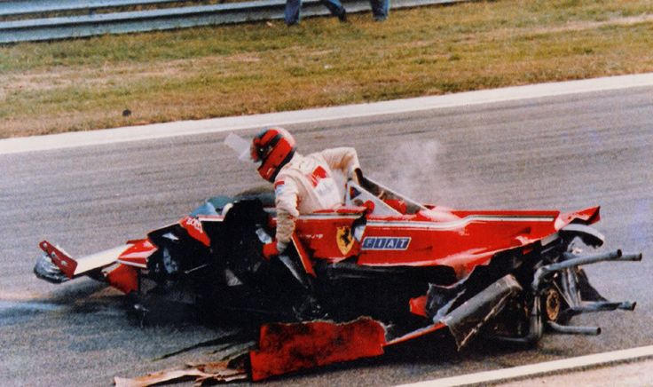 Enzo didn't care. Anyone else would have had his head torn off, but no-one else drove like Gilles.