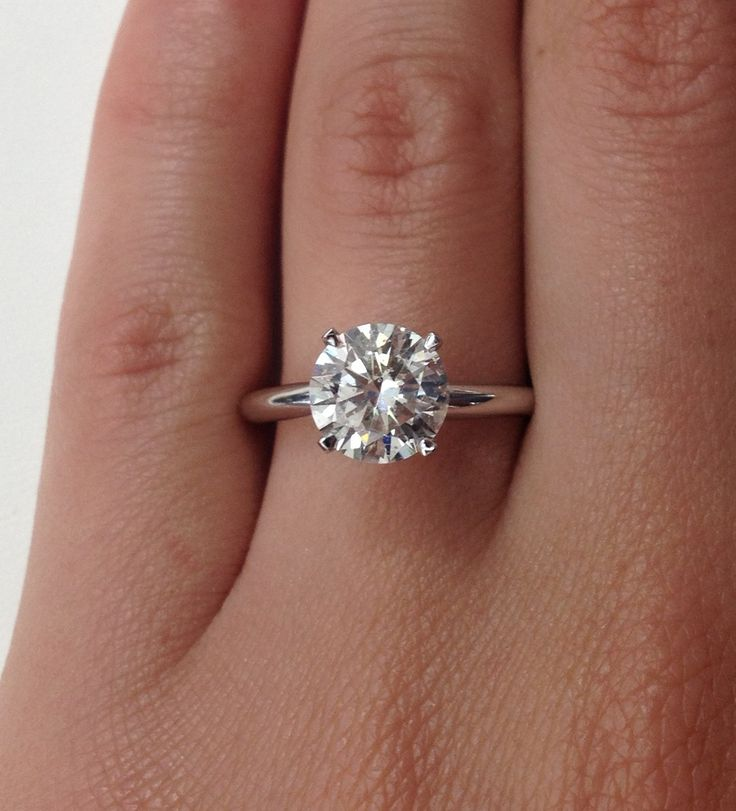 17 Best ideas about Plain Engagement Rings on Pinterest