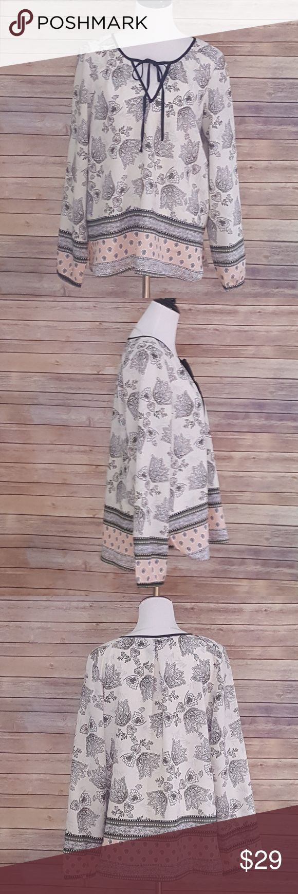 """Sanctuary Boho Blouse Worn once - Excellent preowned condition.   Approx. 22"""" across bust, 26.5"""" length Sanctuary Tops Blouses"""
