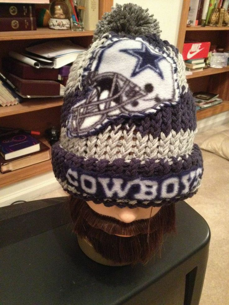 Dallas Cowboys Knitted Hat with logo (With images ...