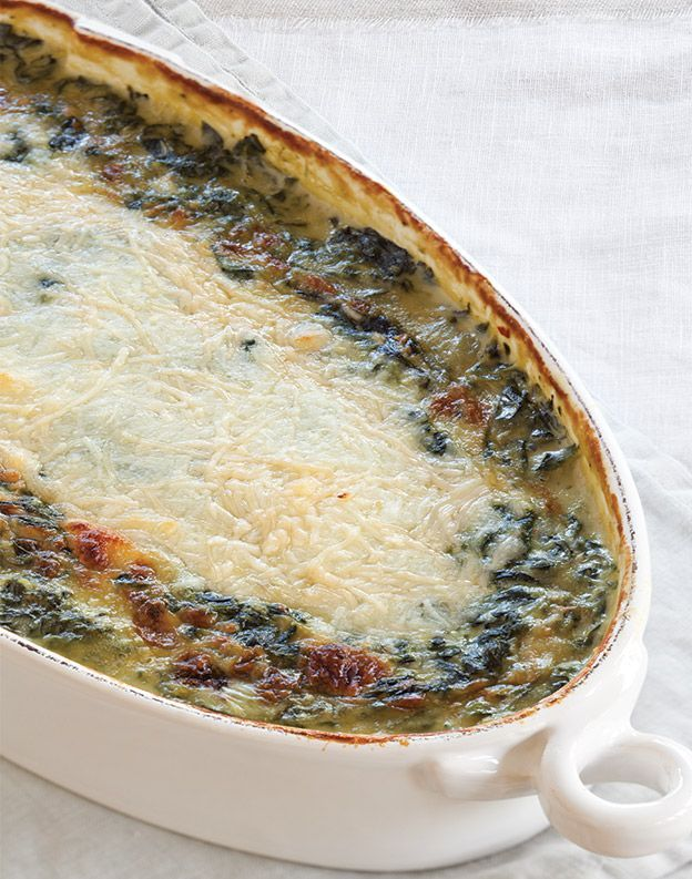 Cheesy Creamed Spinach - Taste of the South Magazine