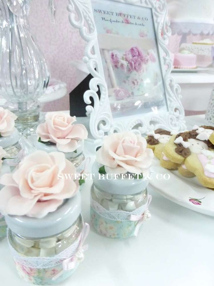 SHABBY CHIC Birthday Party Ideas | Photo 7 of 13
