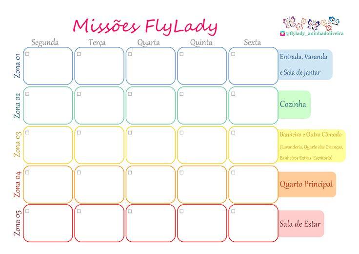 FlyLady, Control Journal, dicas sobre organização doméstica e pessoal, limpeza, vida saúdavel e outros.