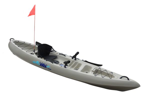RANGER - Our new fishing kayak is ideal for bays and inlets, lakes and rivers. Designed specifically for fishing and carrying heavy loads, the Ranger is very well suited to long fishing trips and it offers excellent stability and tracking and is very easy to paddle.