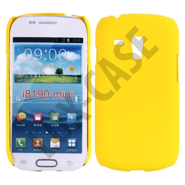 Hard Shell (Gul) Samsung Galaxy S3 Mini Deksel