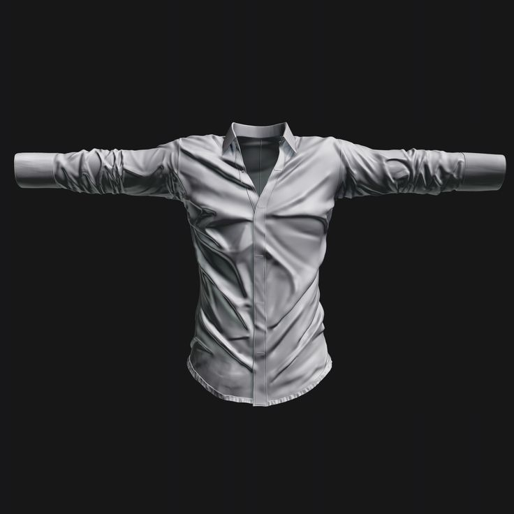 Shirt sculpted for in game