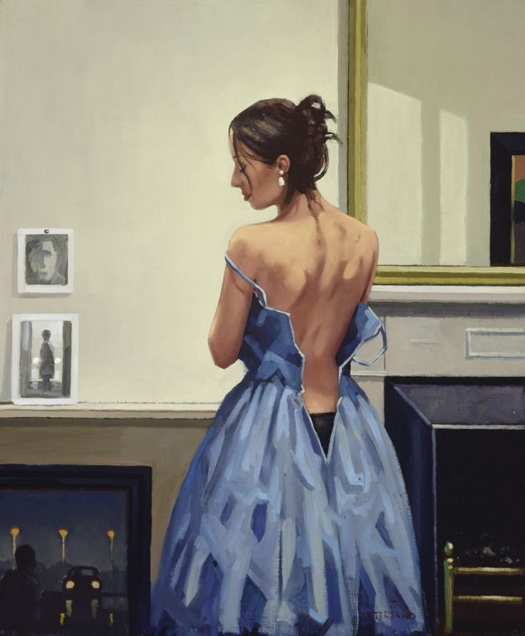 The Blue Gown - Jack Vettriano
