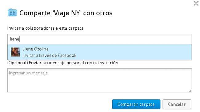 Dropbox permite ahora compartir carpetas con tus amigos de Facebook  http://www.genbeta.com/p/68013
