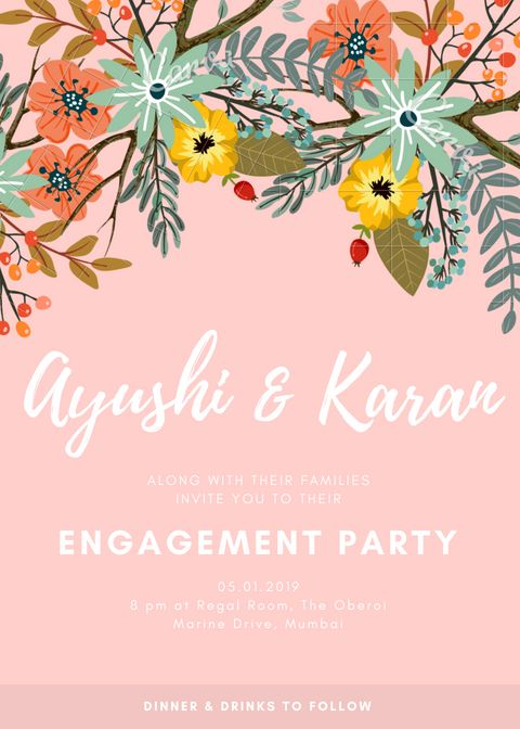 18 Engagement Invitation Message Wording Examples To Make Your Own