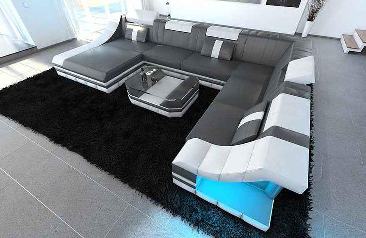Sofa Dreams Wohnlandschaft »Turino«, U Form XXL ...