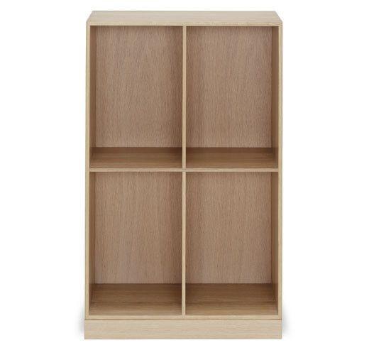 MK95801 2/3 Deep Bookcase