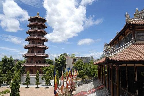 Tu Dam Pagoda, Hue City, Vietnam